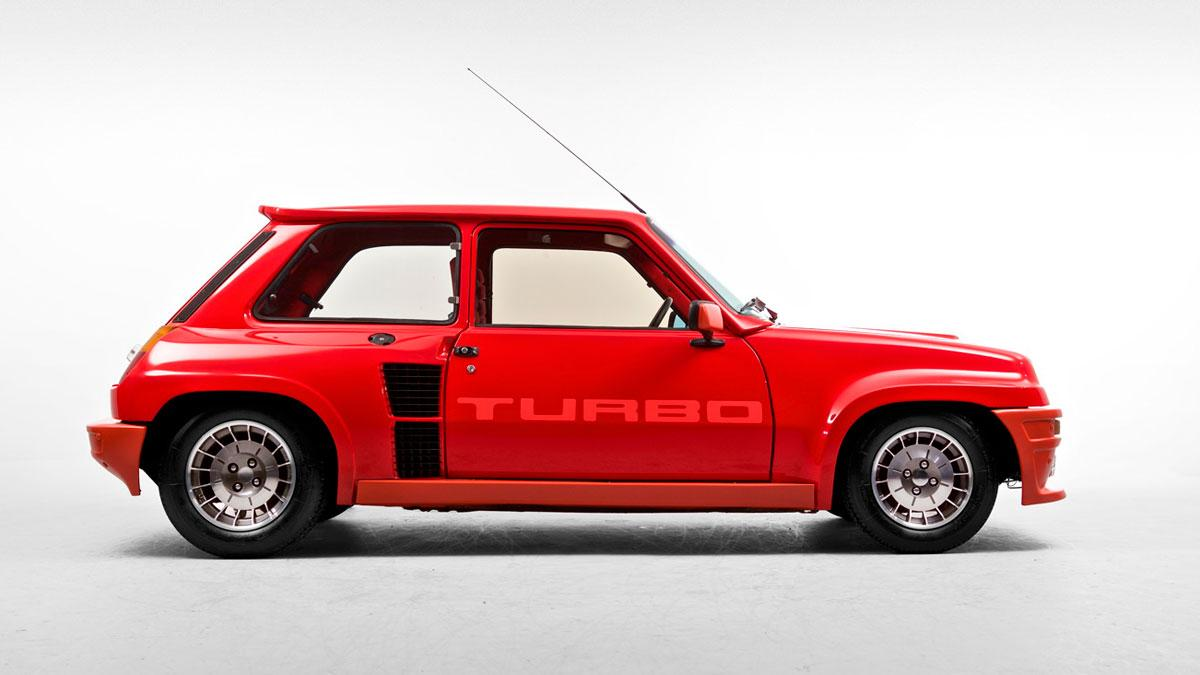 Renault 5 Turbo deportivo clásico