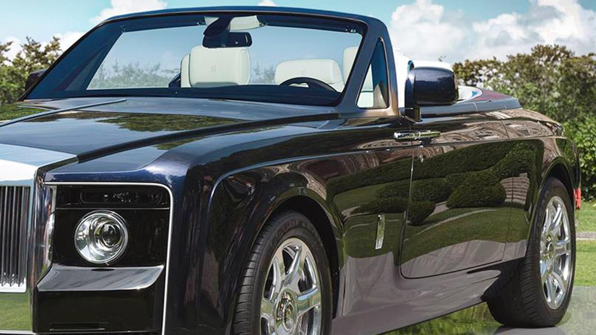 Rolls-Royce Sweptail descapotable