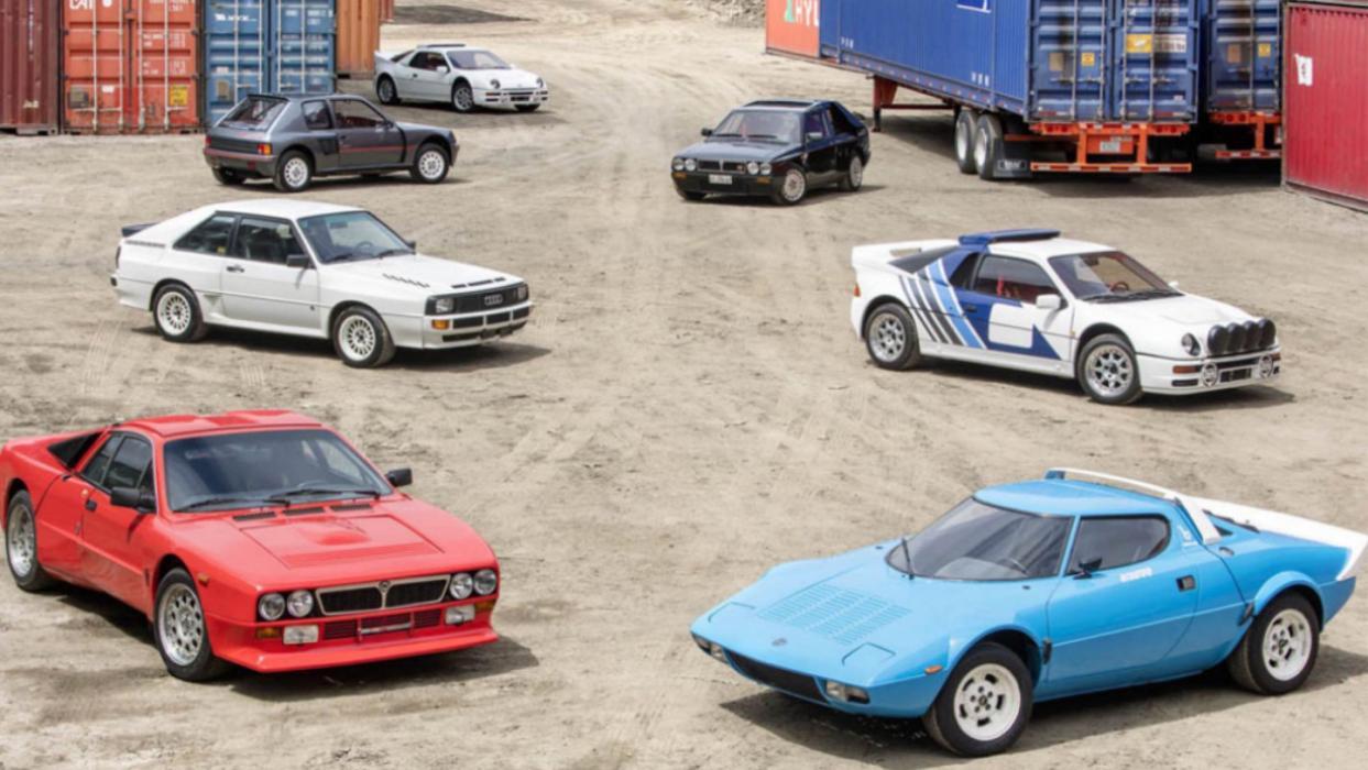 Subasta coches Grupo B