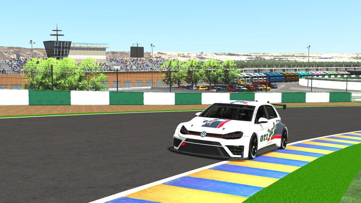 Volkswagen Golf GTI TCR Cloud Sport