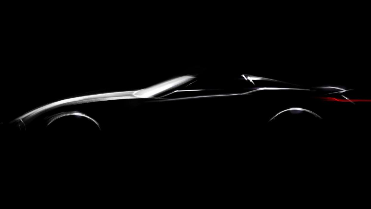 BMW roadster Pebble Beach teaser