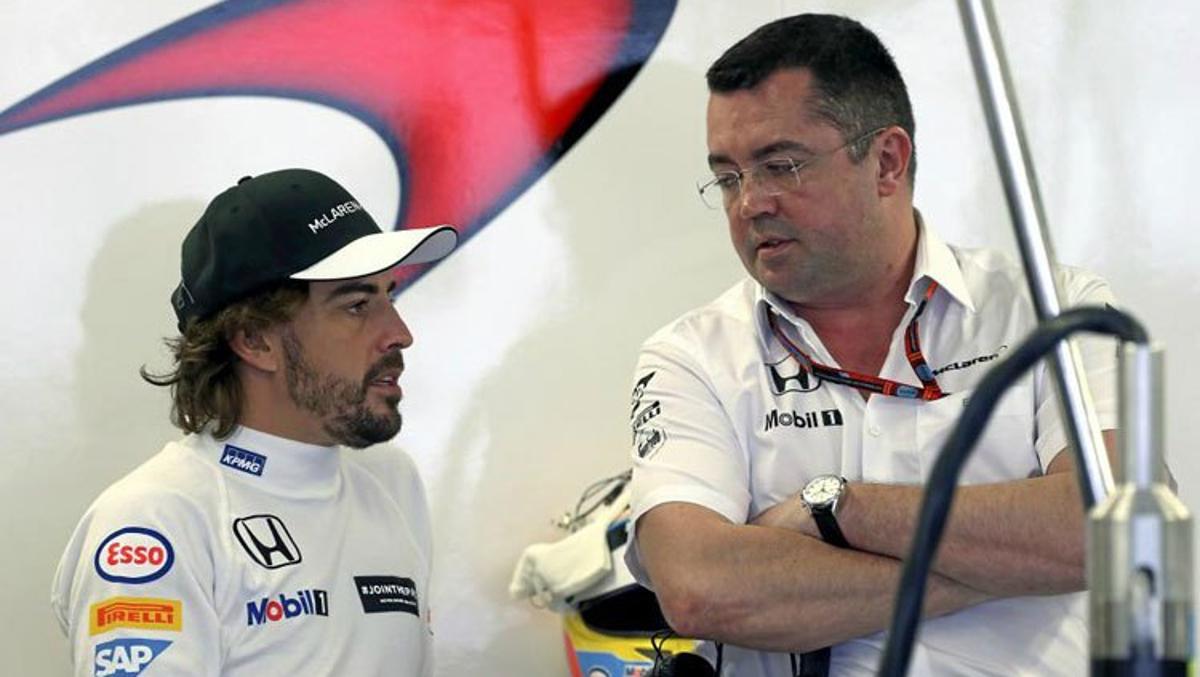 Boullier 'arremete' contra Alonso