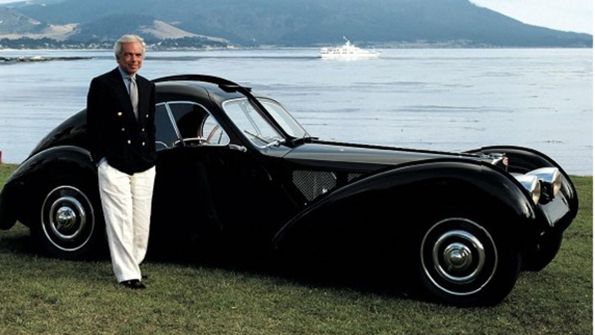 Los coches de Ralph Lauren, alta costura automovilística