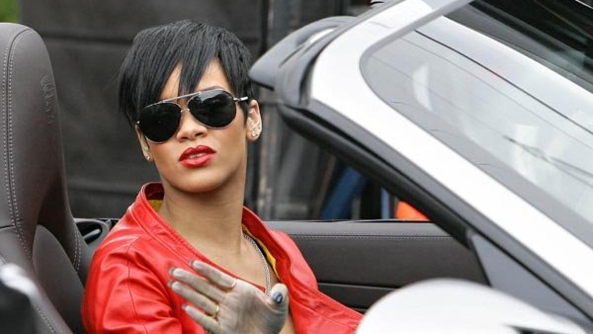 Los coches de Rihanna
