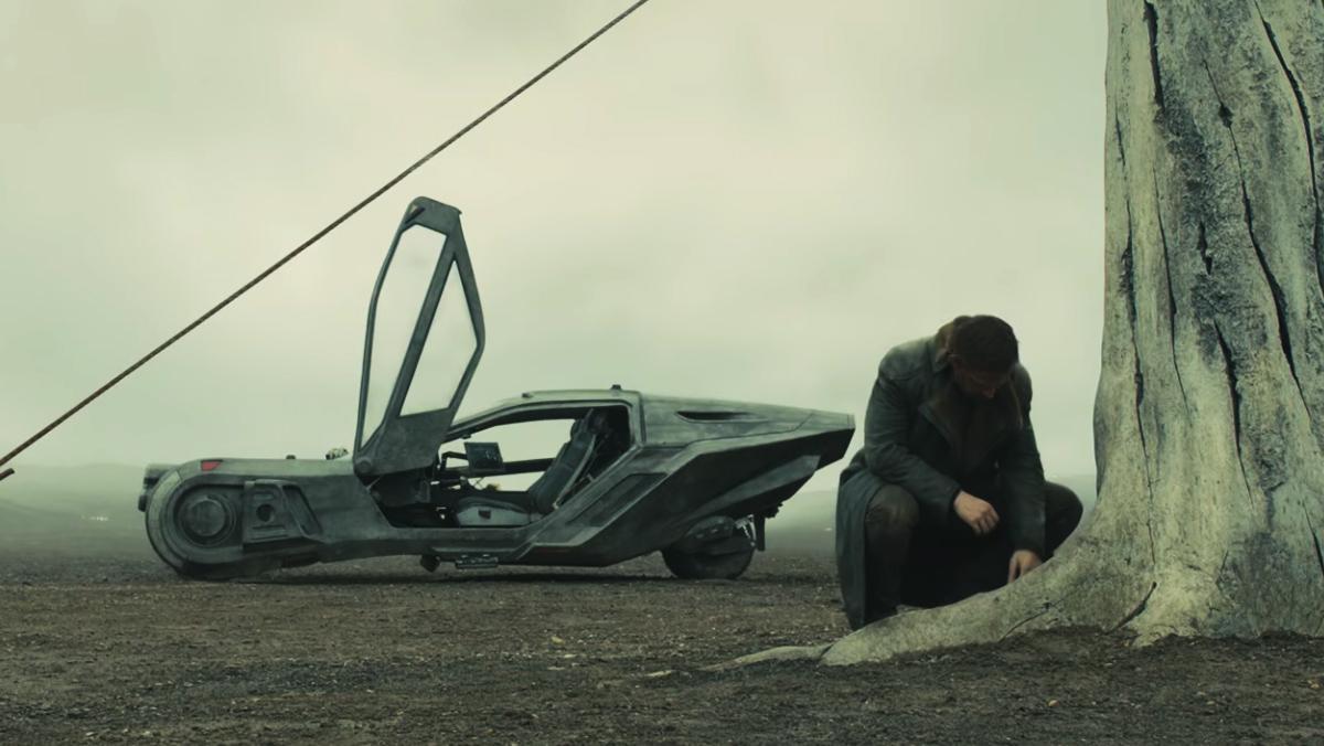 Los coches voladores del tráiler de Blade Runner 2049