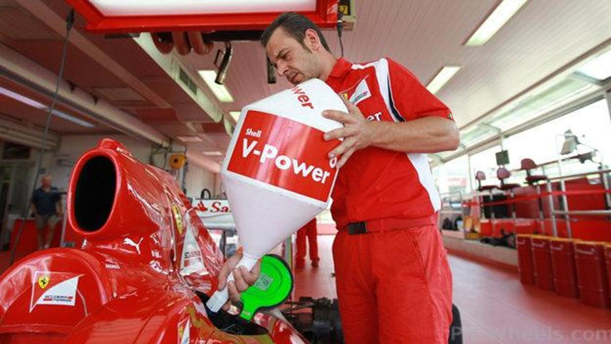 Enfriar la gasolina F1
