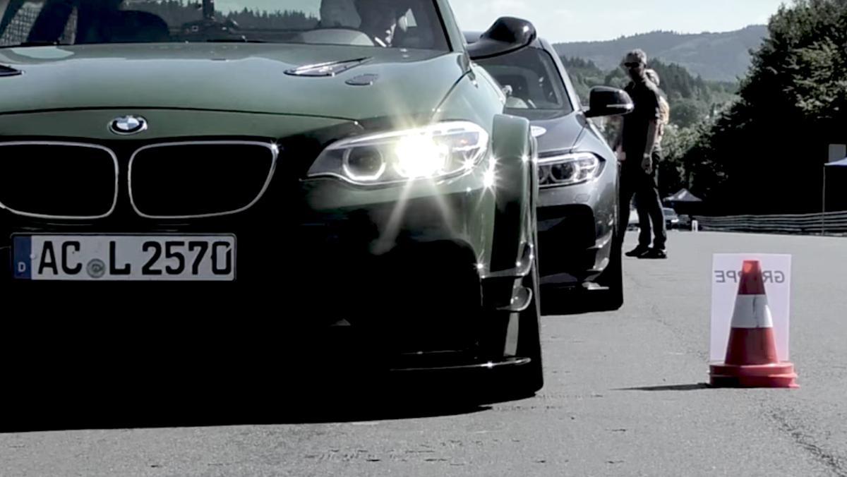 Flipa con este AC Schnitzer reventando Nürburgring... y una paloma