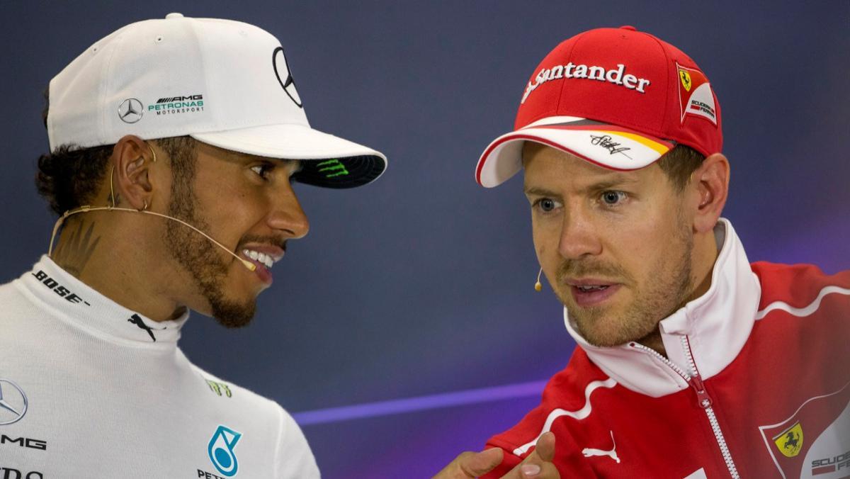 ¿Hamilton y Vettel intercambiarán sus asientos?