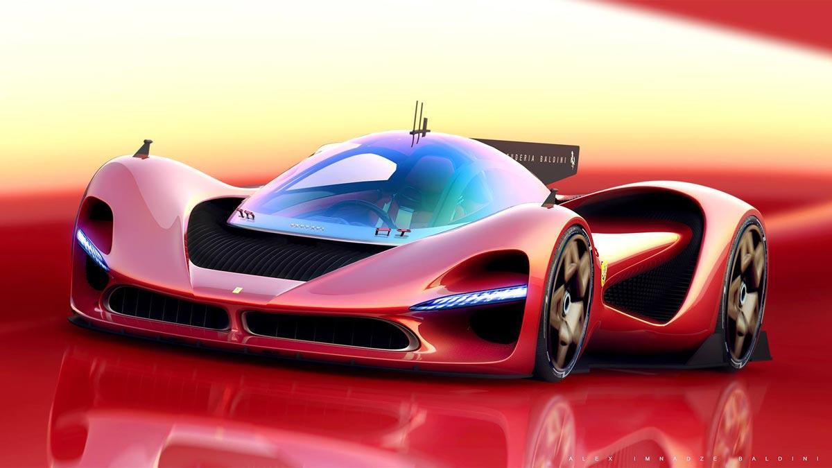 Hiperdeportivo Ferrari del futuro baldini deportivo Formula 1