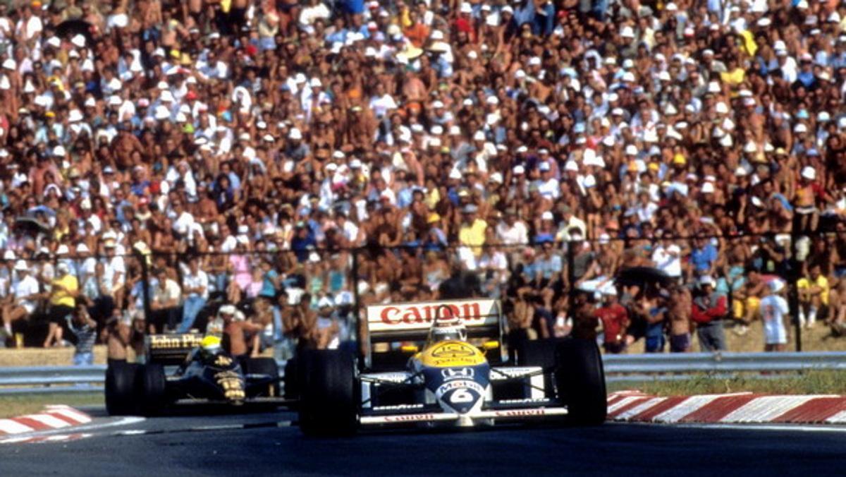 Hungarian GP 1986
