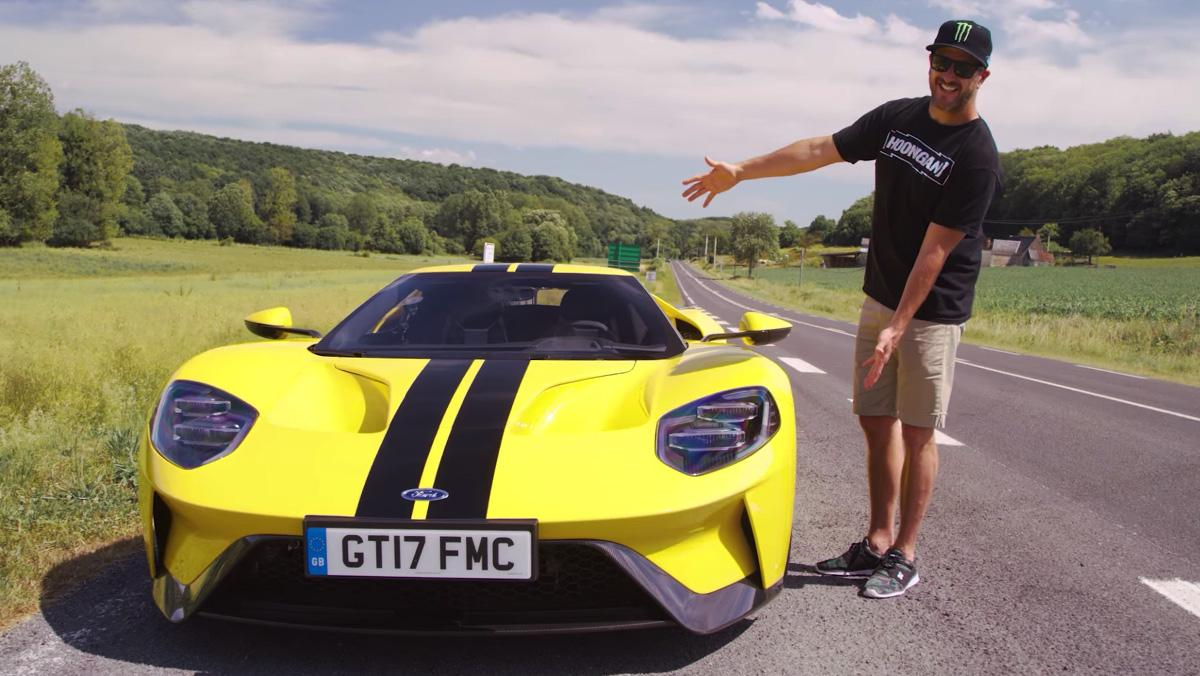 Ken Block ha conducido el nuevo Ford GT