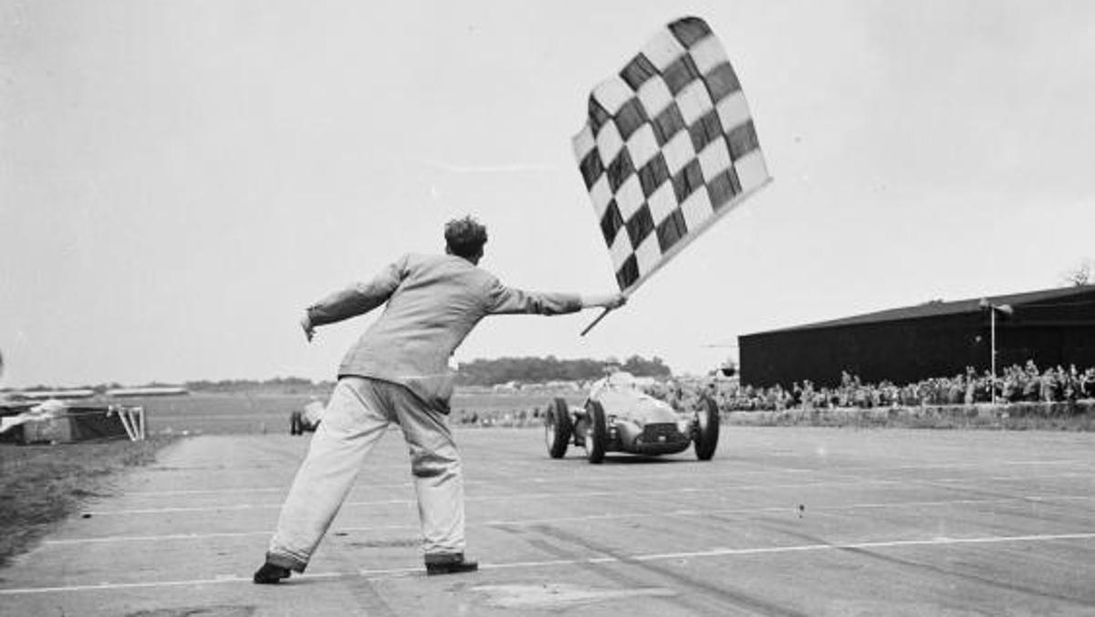 Llegada Silverstone 1950