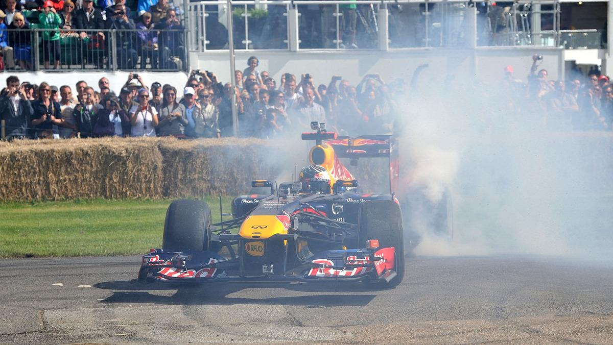 Los mejores Donuts del Goodwood Festival of Speed