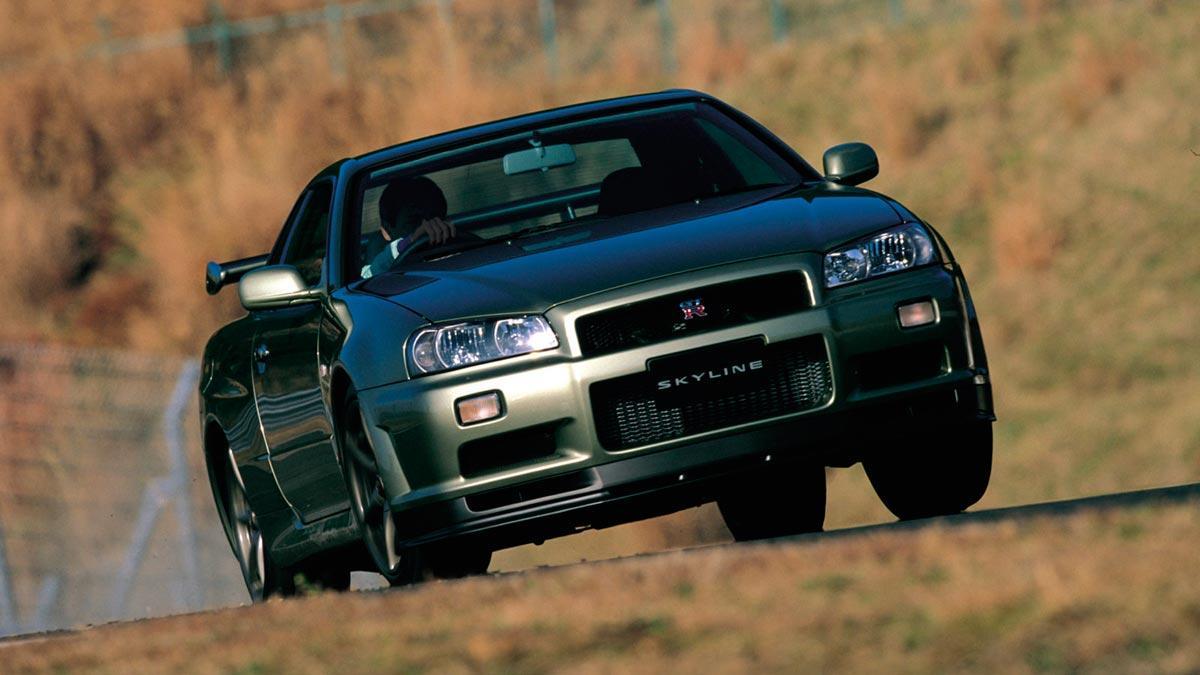 Nissan Skyline GT-R R34 V-Spec deportivo Japón