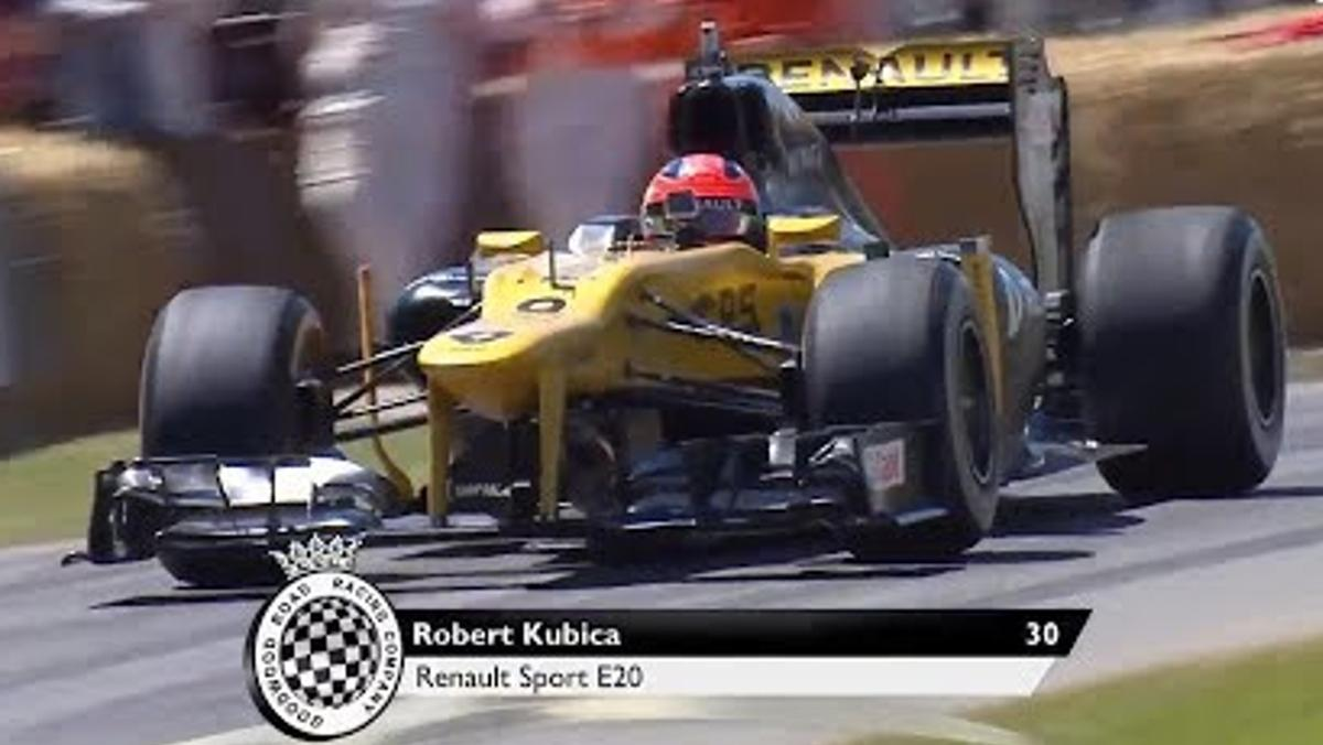 Robert Kubica en Goodwood 2017