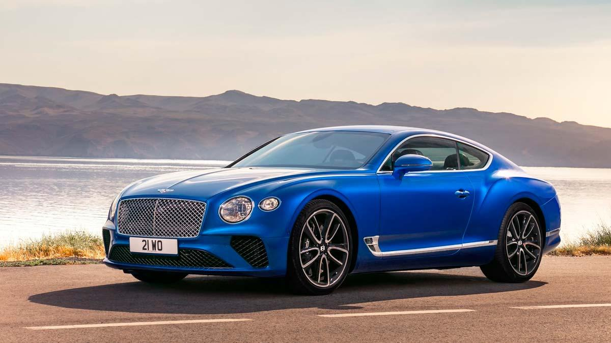 Bentley Continental GT 2018 coupé deportivo lujo