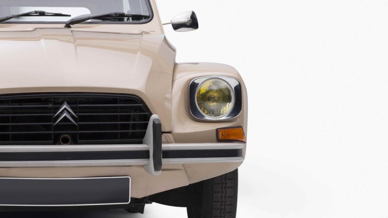 Citroën Dyane (frontal)