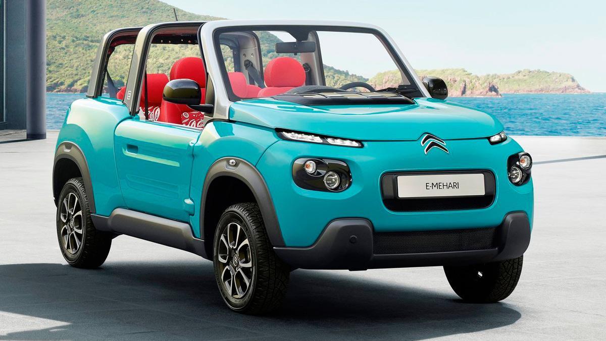 Coches para viajar despacito: Citroën e-Mehari (I)