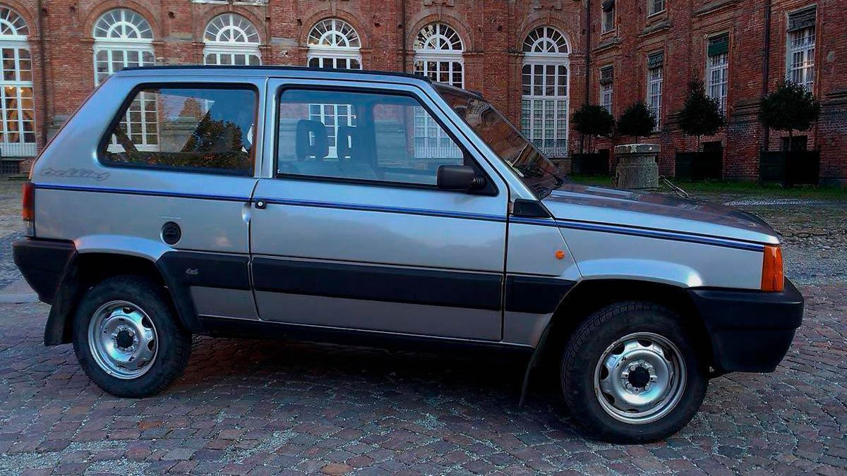 Fiat Panda de Gianni Agnelli compacto clásico