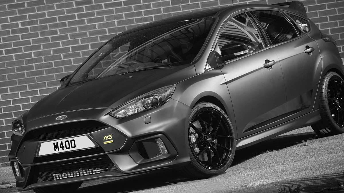 Ford Focus RS M400 Mountune compacto radical