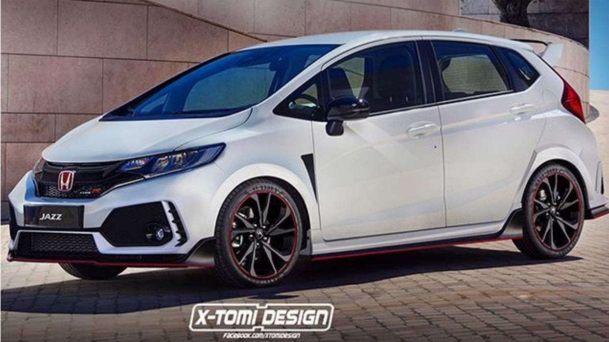 Honda Jazz Type R render