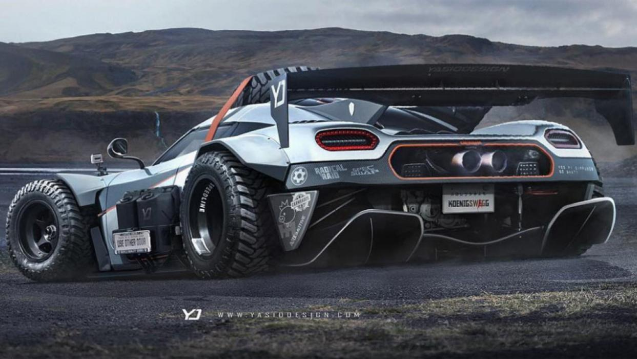 Koenigsegg One:1 Off-Rad