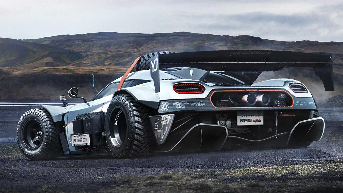 Koenigsegg todoterreno