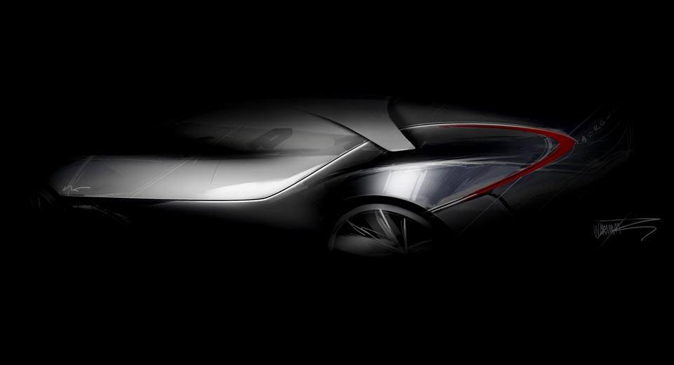 Prototipo Borgward Teaser Frankfurt