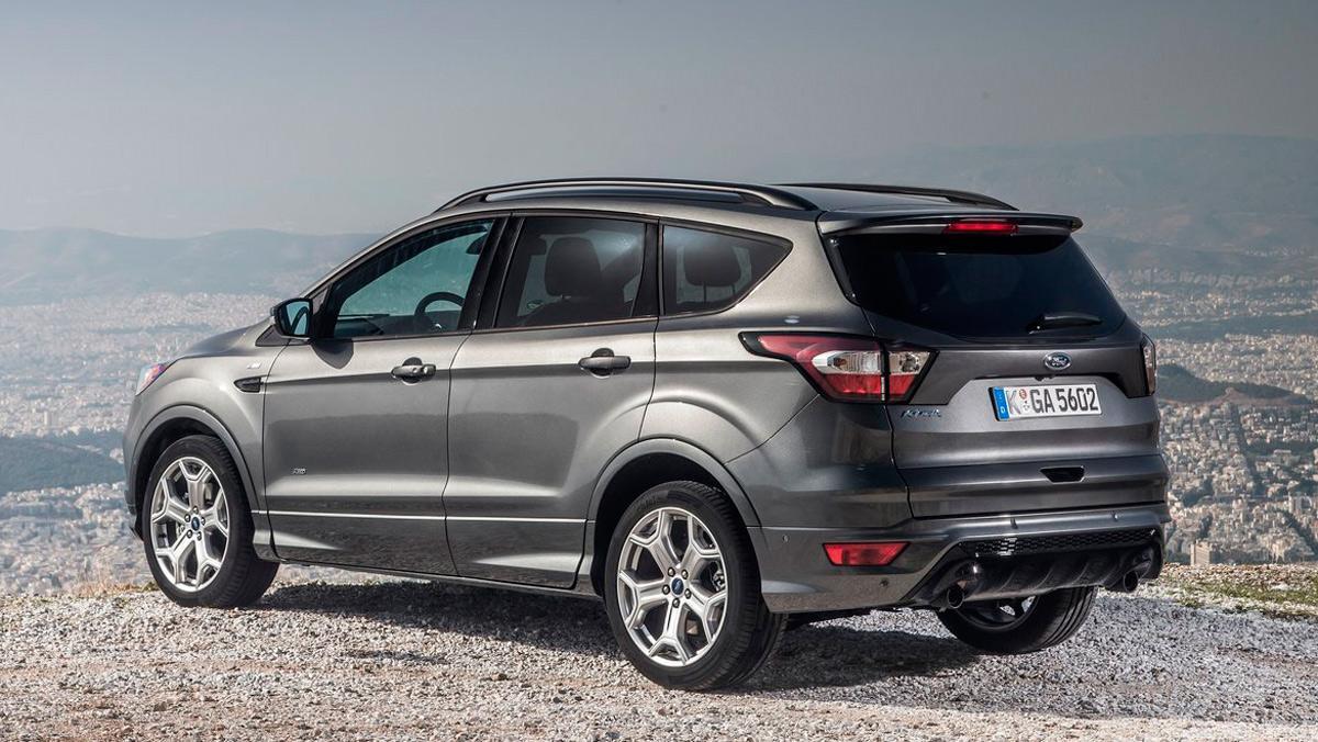 Rivales Nissan Qashqai: Ford Kuga (I)