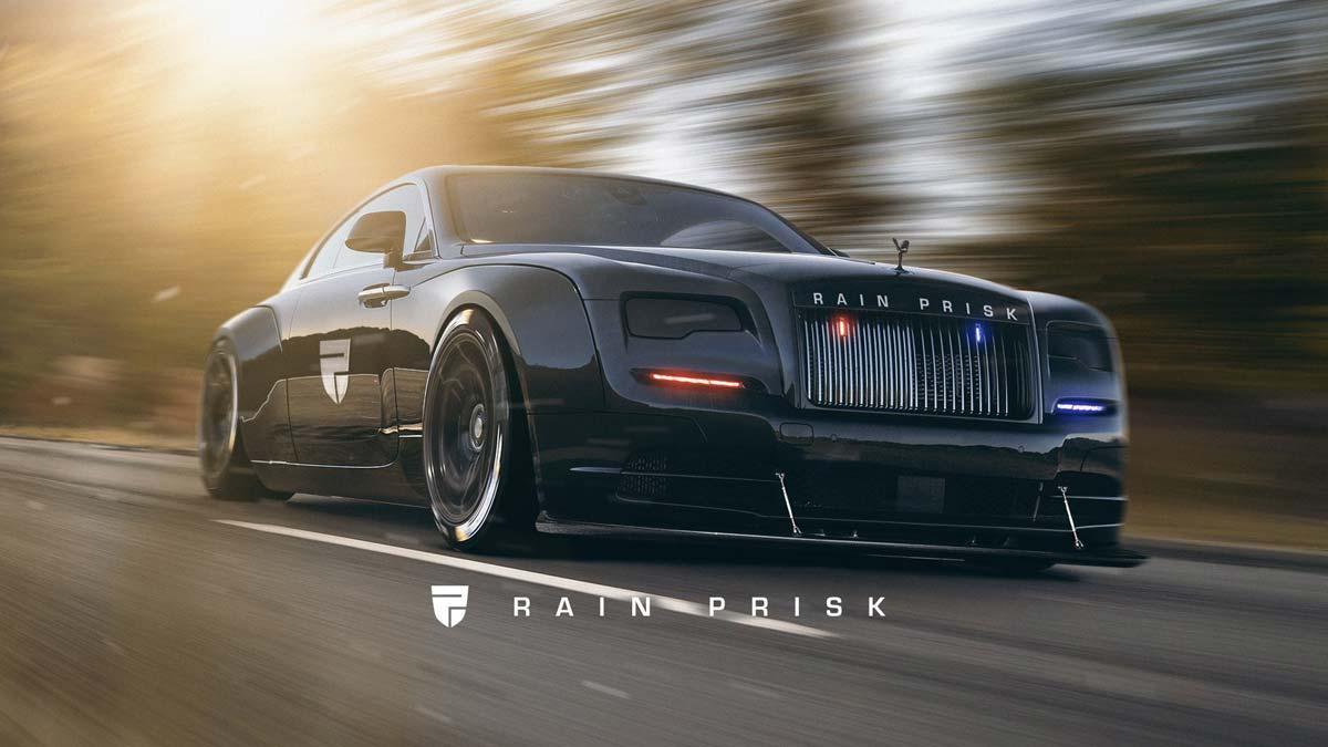 Rolls-Royce Wraith de policía Rain Prisk