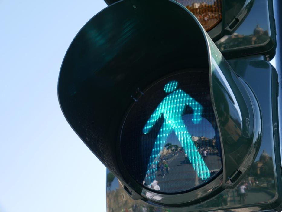 Semáforo en verde