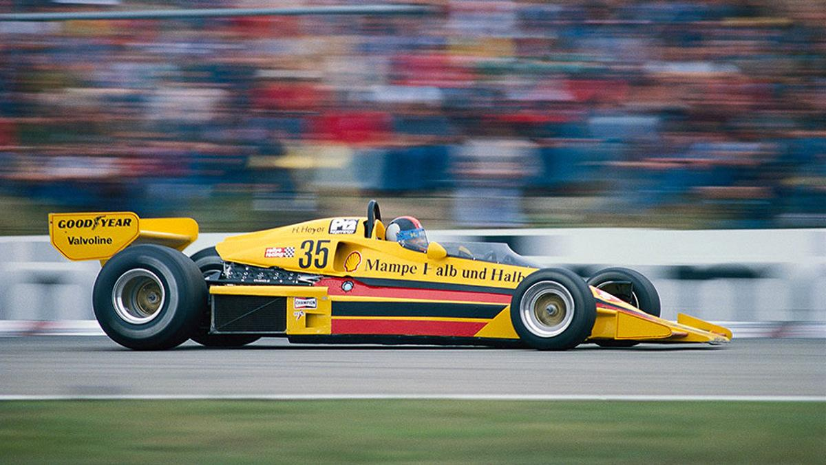 1977 Hans Heyer, Penske PC4 - Ford Cosworth