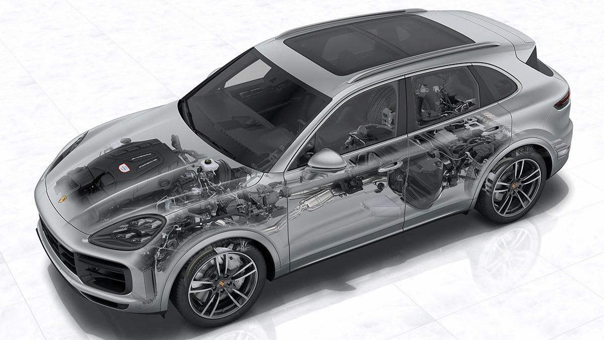 5 tecnologías del Porsche 911 presentes en el nuevo Cayenne 2018