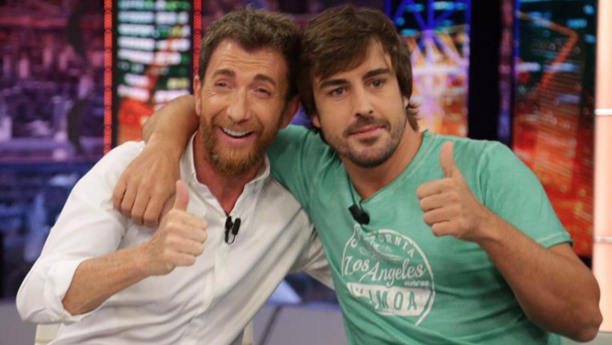Alonso en El Hormiguero