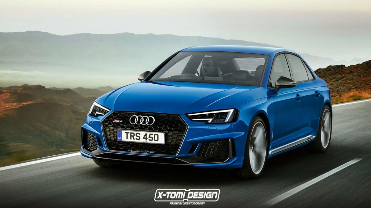 Audi RS4 Sedán