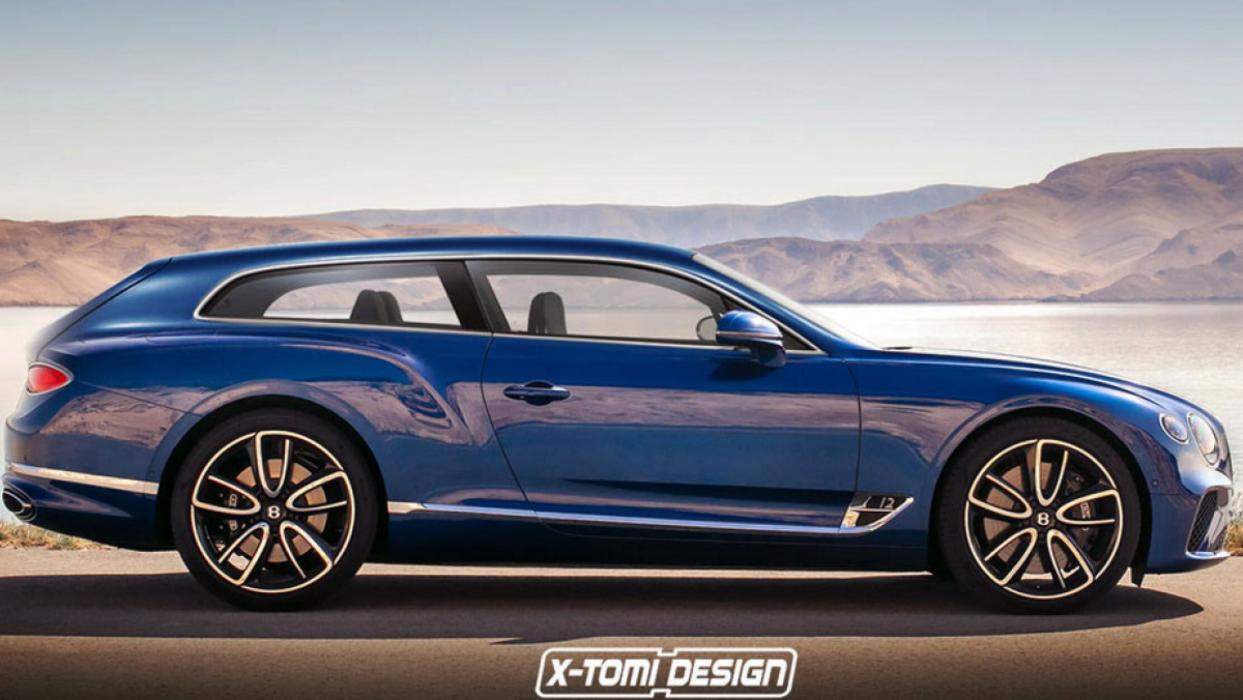 Bentley Continental GT Shooting Brake