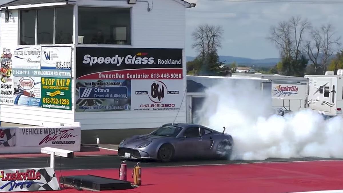 Un deportivo con motor Tesla más rápido que un Aventador