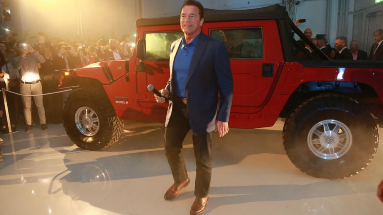 Hummer H1 eléctrico de Arnold Schwarzenegger