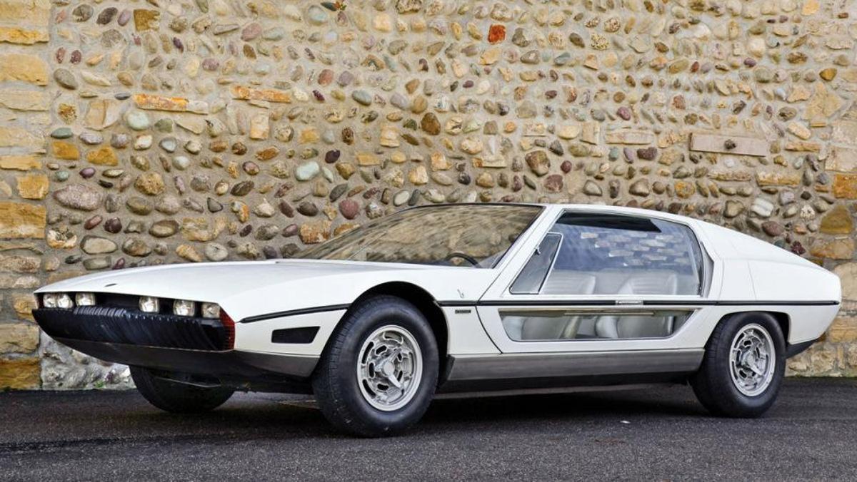 El Lamborghini Marzal, el superdeportivo que se quedó en prototipo