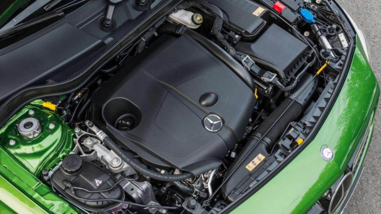 Mercedes Clase A motor