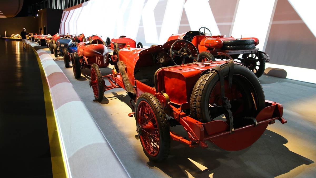 Museo del Automóvil de Turín historia coches