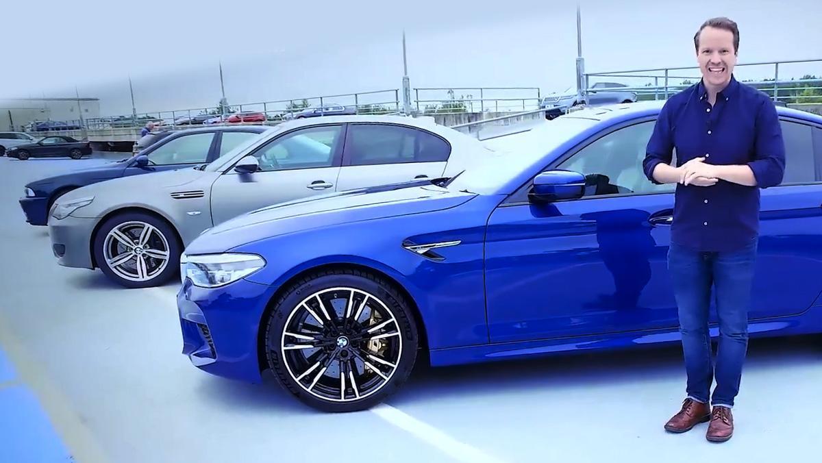 ¿Qué BMW M5 suena mejor?