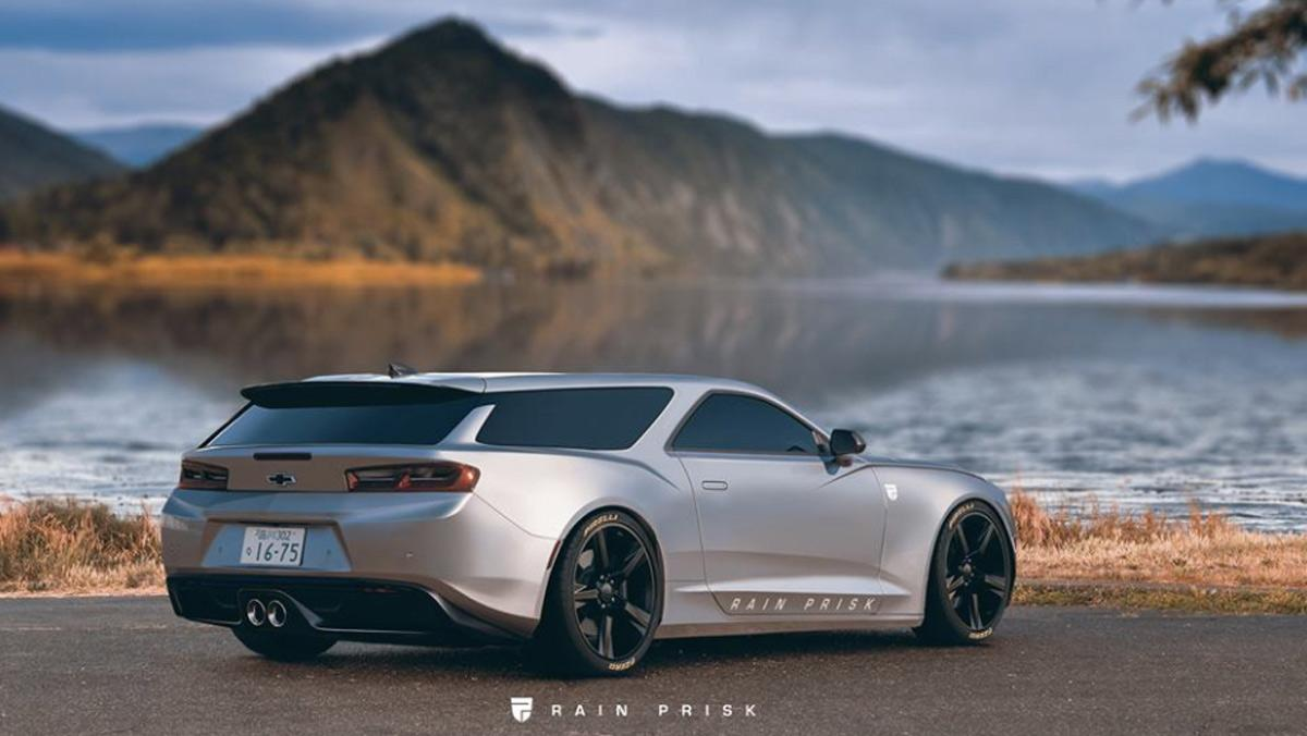 Render Chevrolet Camaro/Nomad