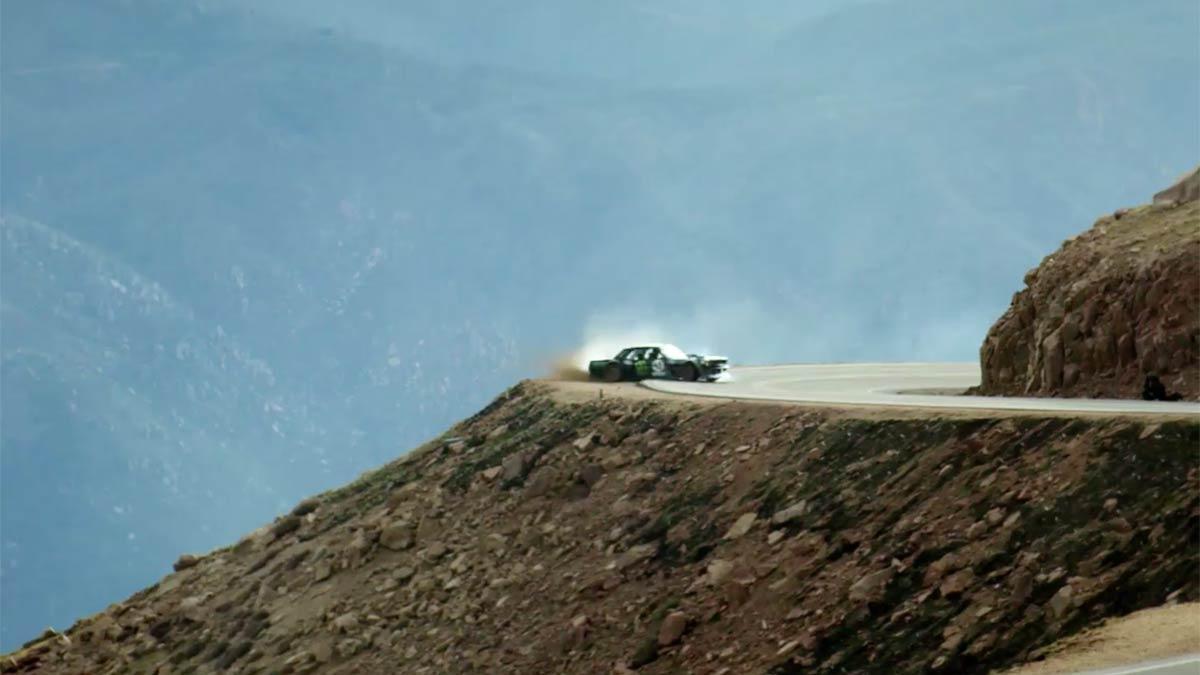 Teaser Climbkhana Ken Block en Pikes Peak