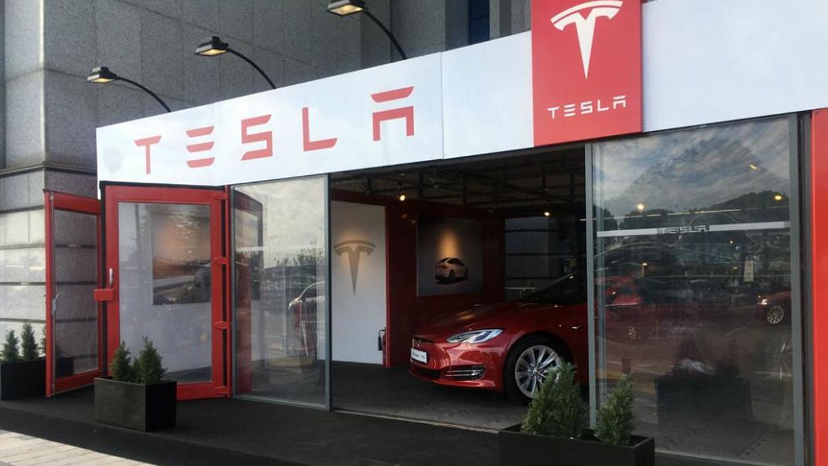 Tesla en Madrid
