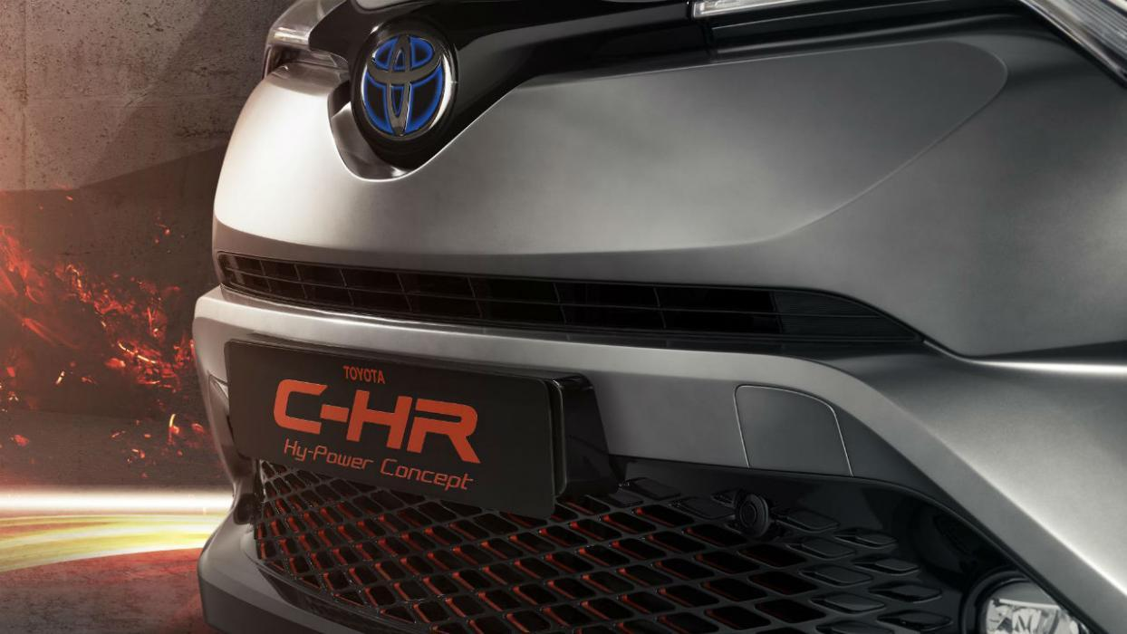 Toyota C-HR Hy-Power Concept suv