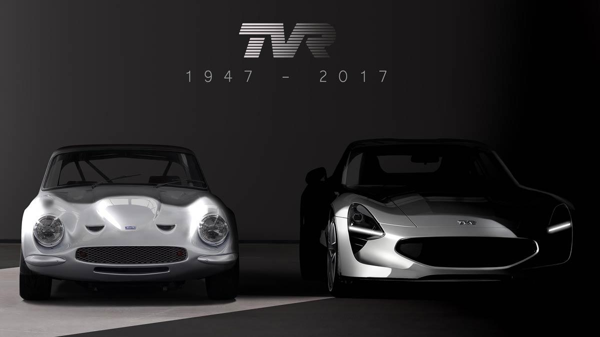 TVR 2017 deportivo moderno clásico