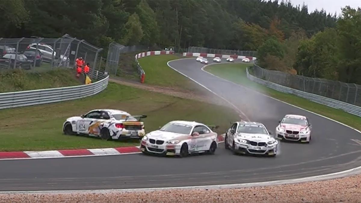 Accidente BMW M235i en Nürburgring