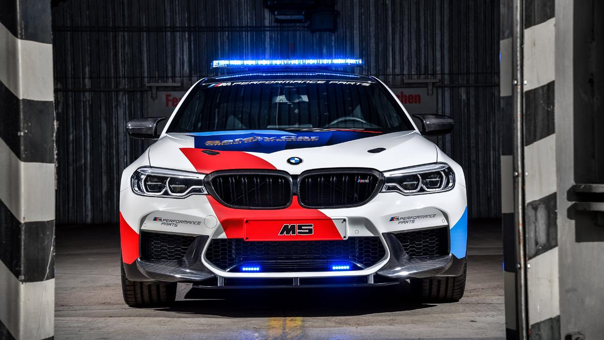 BMW M5 Safety Car de MotoGP (I)