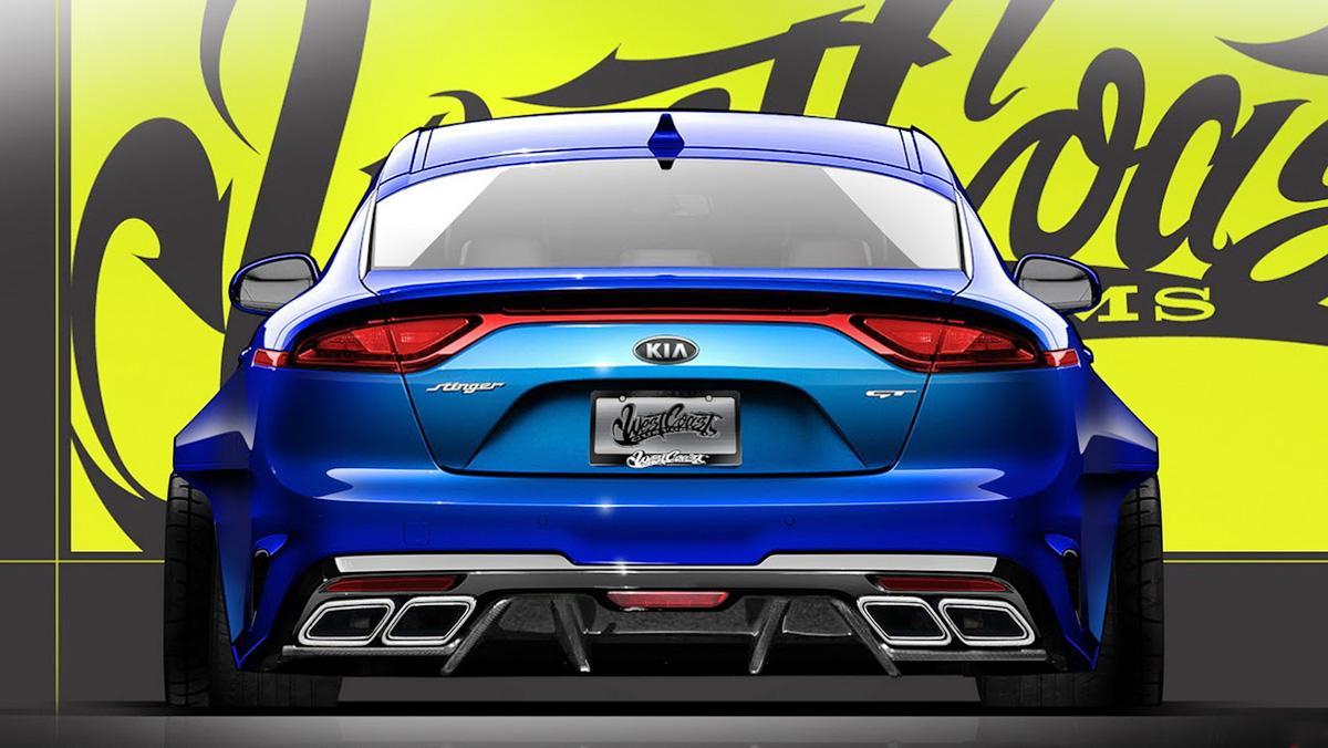El brutal Kia Stinger GT del SEMA Show 2017